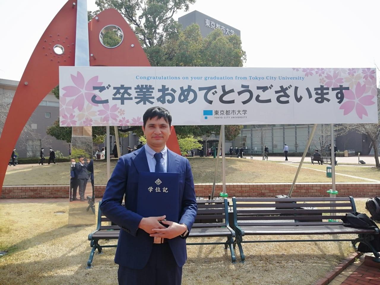 कर्णालीका शाहीले गरे जापानी विश्वविद्यालयबाट उर्जामा पहिलो विद्यावारिधी