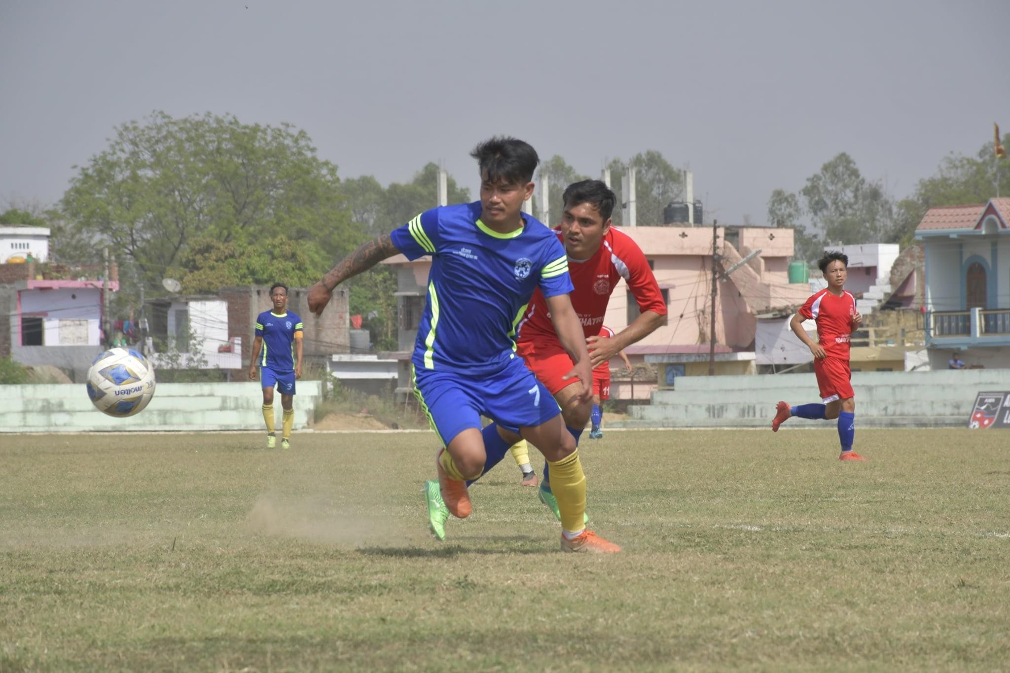 लुम्बिनी प्रदेशको च्याम्पियन धम्बोझीको लगातर दोस्रो हार