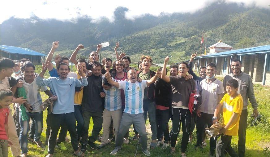 कोपा अमेरिका : अर्जेन्टिनाले जित्दा डोल्पामा खुशीयाली